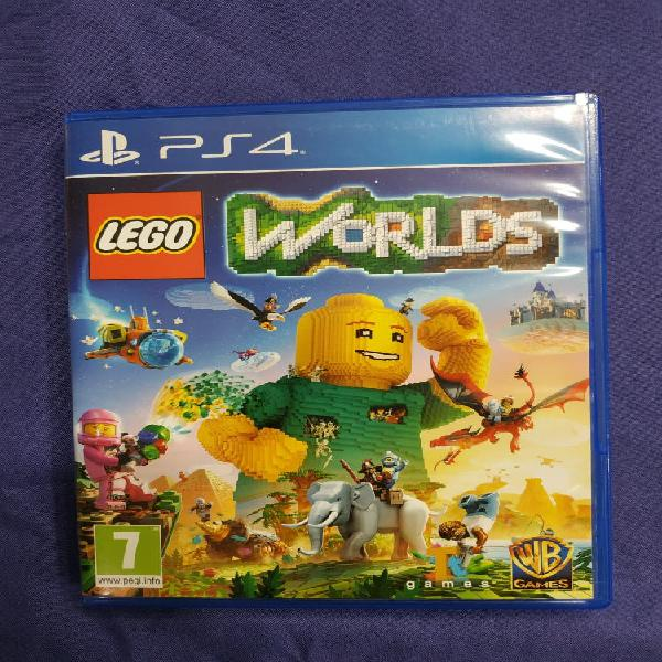 Juego ps4 - lego worlds