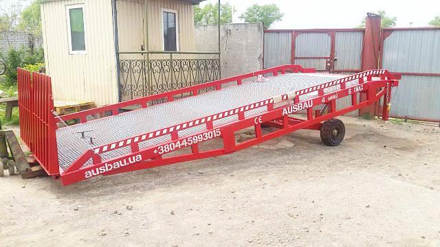 Rampa móvil de carga ausbau del fabricante
