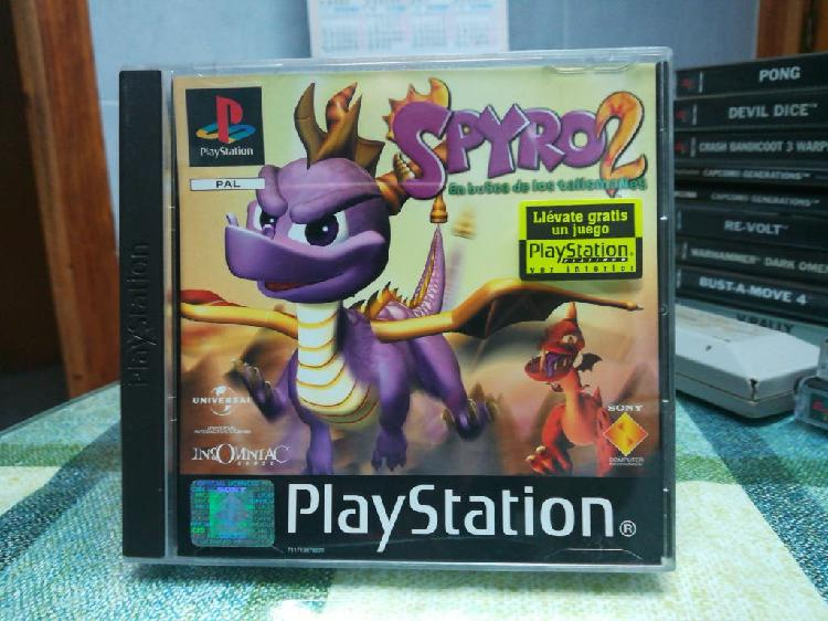 Spyro 2 pal españa completo ps1 psx ps one