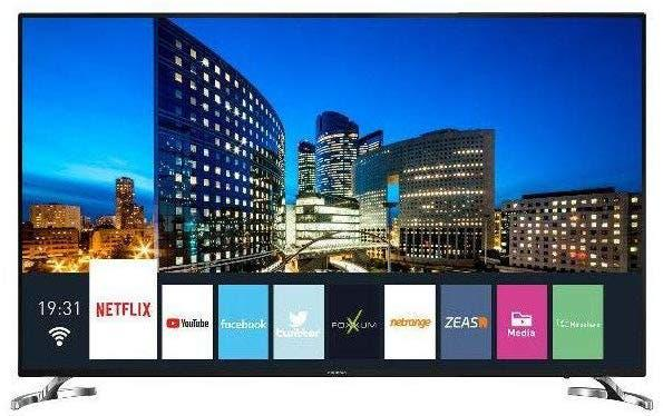"Tv led grundig 58vlx7860bp, 58"", uhd 4k, smart tv"