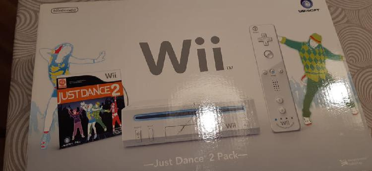 Wii - con juego just dance 2