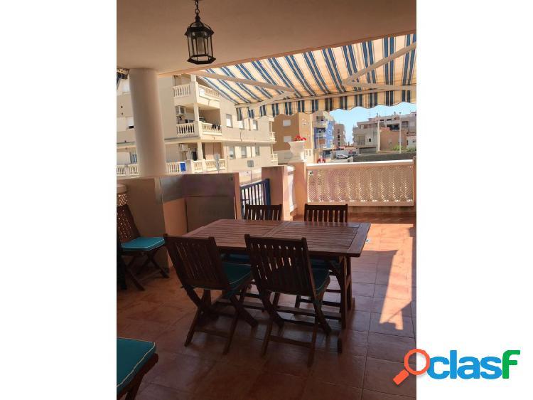 Apartamento en venta y en alquiler vacacional, con plaza de garaje en moncofar