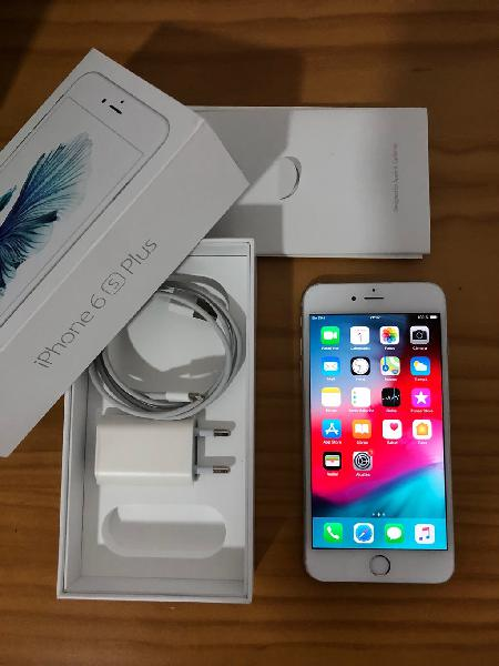 Iphone 6s plus 64gb silver perfecto