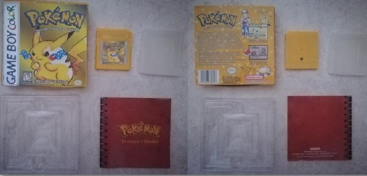 POKEMON YELLOW COMPLETO NINTENDO GAME BOY