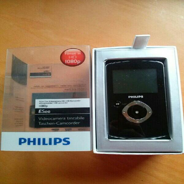 Video camara philips hd 1080