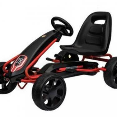 Kart pedales rally black edition