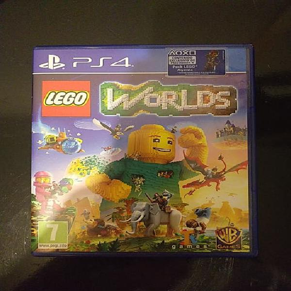 Lego worlds* para ps4