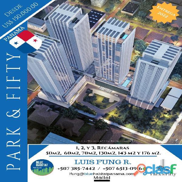 """Proyecto inmobiliario """"park & fifty"""". ciudad de panamá..!!"""
