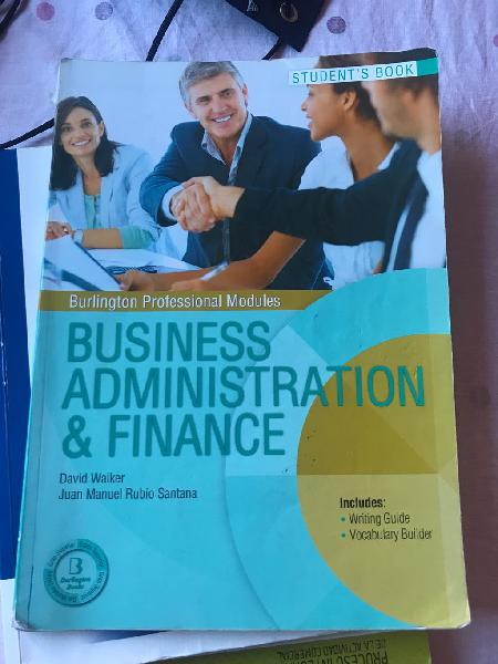 Business administration and finance