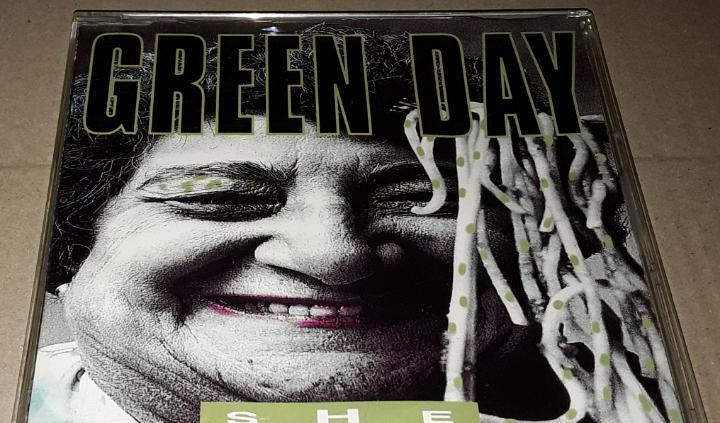 Cd single - green day - she - promocional - green day