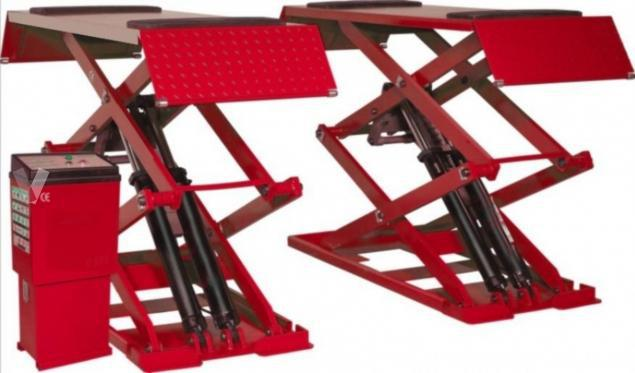 Elevador tijera extra plano plt32 3000kg 220v