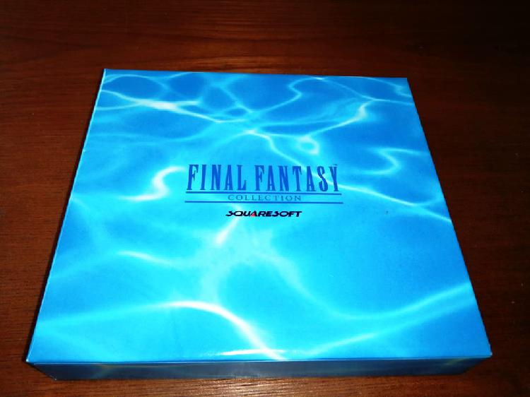 Final fantasy collection sony playstation psx ps2