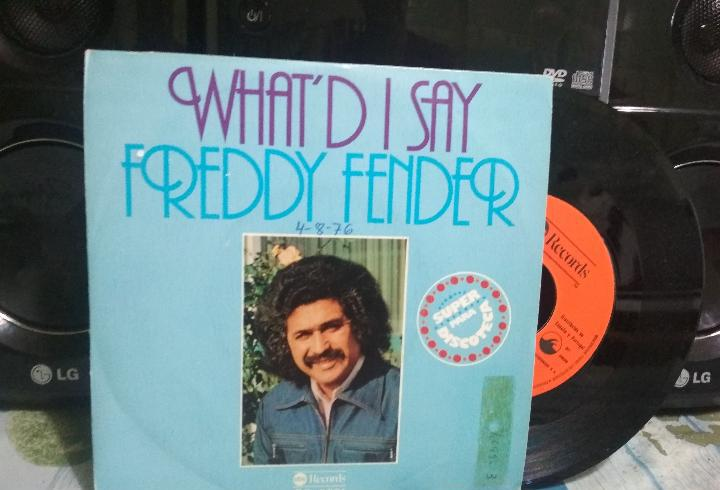 Freddy fender what'd i say single spain 1976 pdeluxe