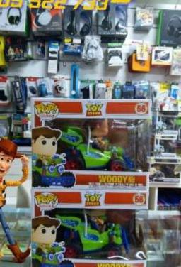 Funko pop toy story woody with rc