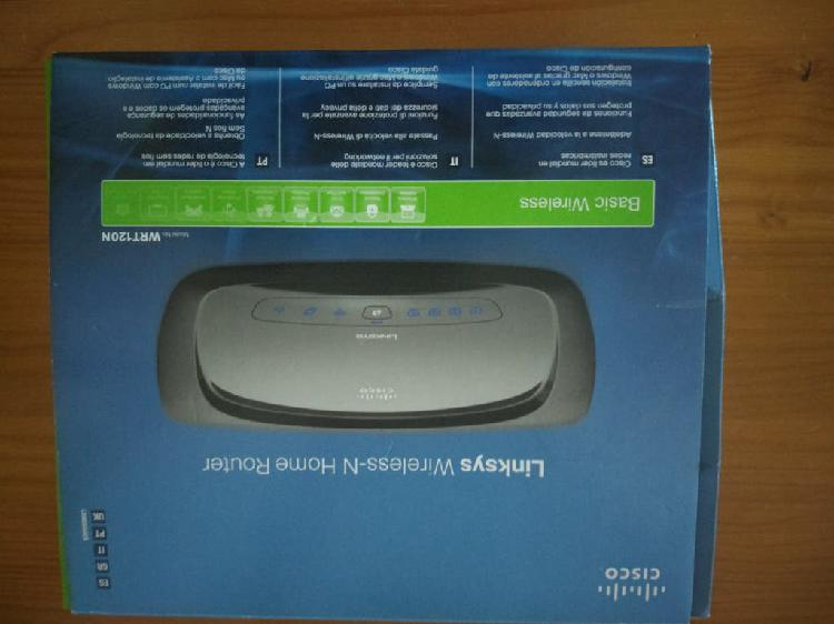 Router linksys wrt120 n wireless-n home