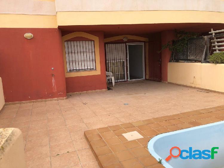 Planta baja en un fantástico residencial en Playa Serena Sur 2
