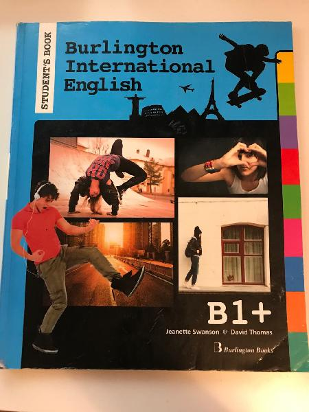 Libro de inglés nivel b1 burlington books