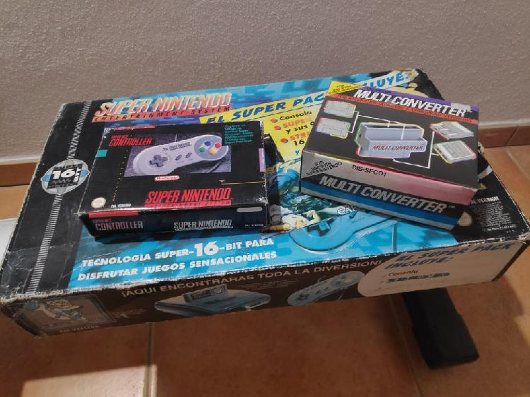 Snes pack supernintendo