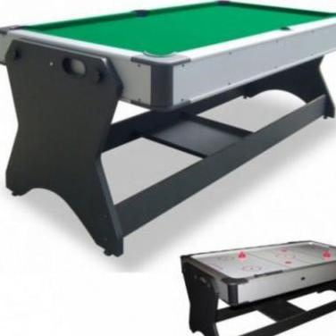 Billar modelo giratorio (billar + air hockey)