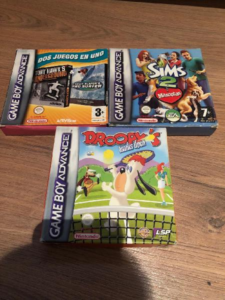 Juegos gameboy advance
