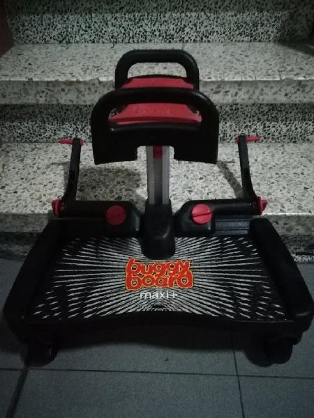 Patinete buggy board maxi+asiento