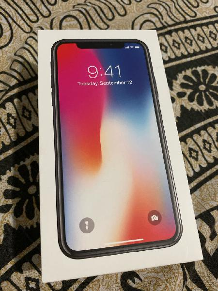 Iphone x 64gb gris (space gray)
