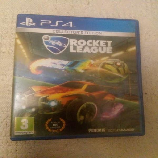 Lote de juegos ps4(rocket league,gta5 y minecraft