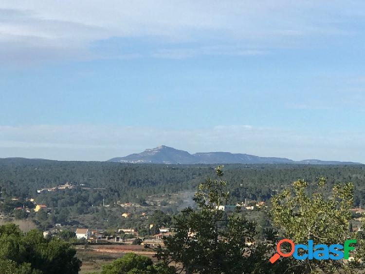 Terreno para construir en la cima de una montaña con impresionantes vistas majestuosas, Navarres, CV 1