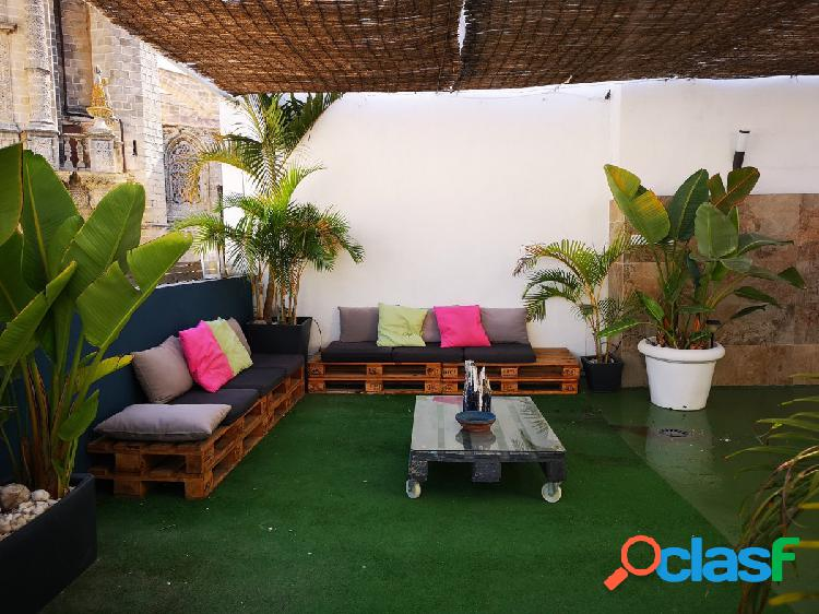 ¡¡oportunidad!!! casa con apartamento independiente totalmente reformada en pleno centro de jerez