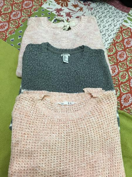 Lote 3 jersey talla s