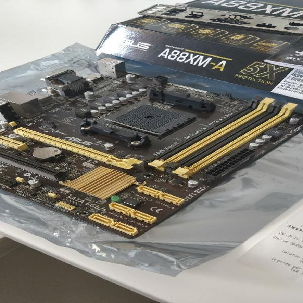 Placa base asus a88xm-a para amd socket fm2+