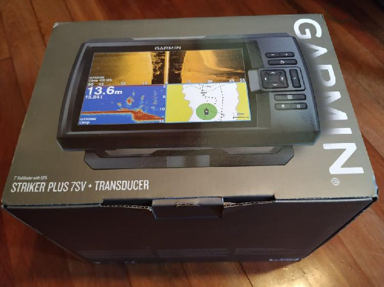 Sonda garmin striker plus 7sv + transductor