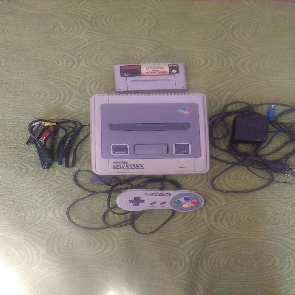 Super nintendo ichip y mario all stars+ world