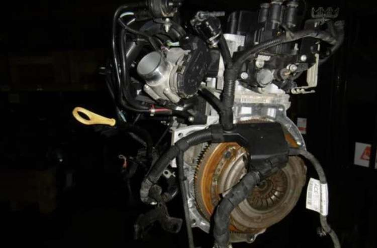 Motor completo snjb ford fiesta vii