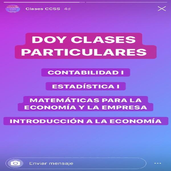 Clases particulares ade