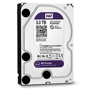 Hdd western digital purpple 3tb