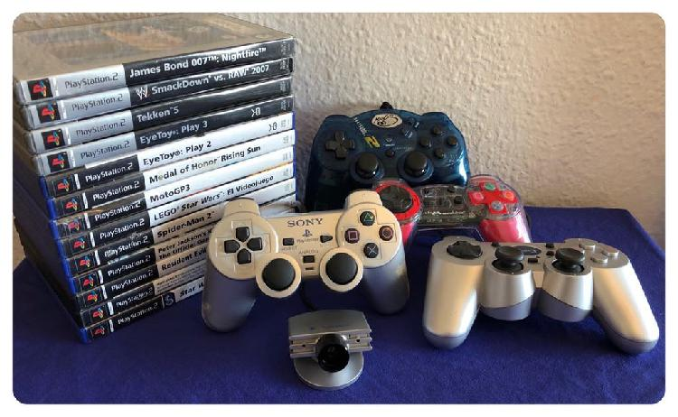Lote sony ps2 playstation 2