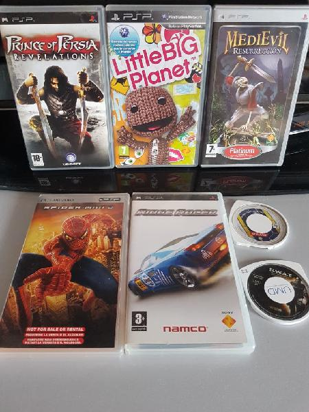 Pack juegos sony psp