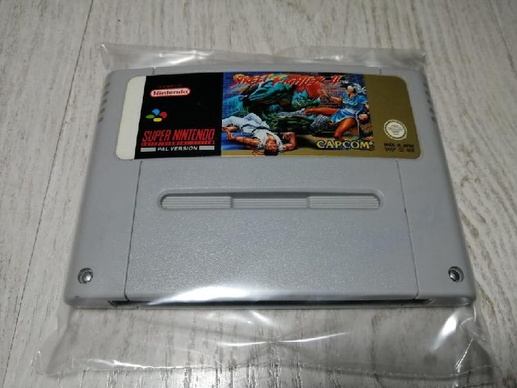 Street fighter ii super nintendo snes