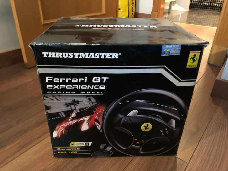 Volante thrustmaster play station 3
