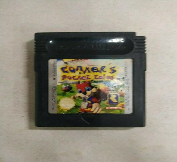 Conkers pocket tales - game boy gameboy color gbc - pal