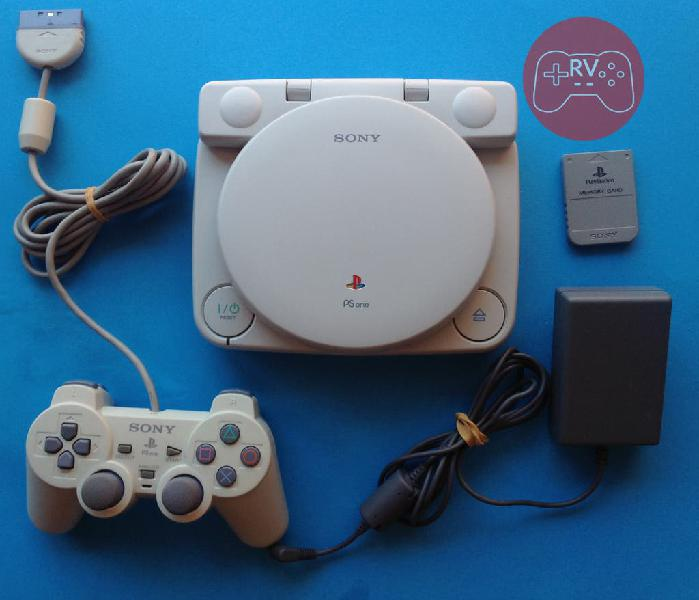 Consola psone ps one playstation sony ps1 ntsc lcd