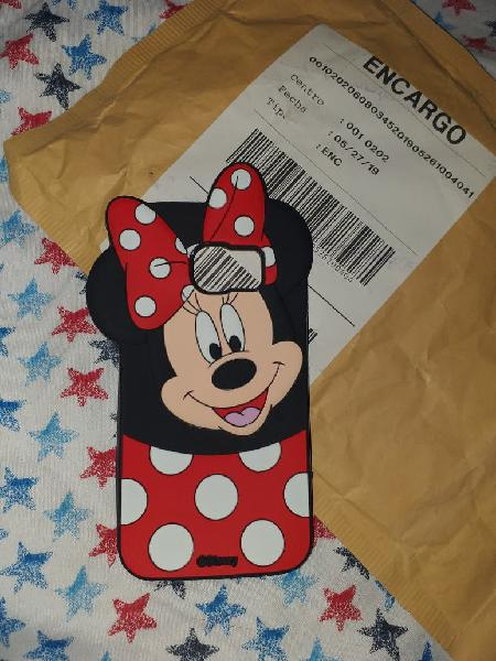 Funda samsung galaxy s6 minnie nueva