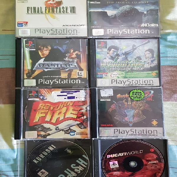 Pack juegos psx ps1 psone