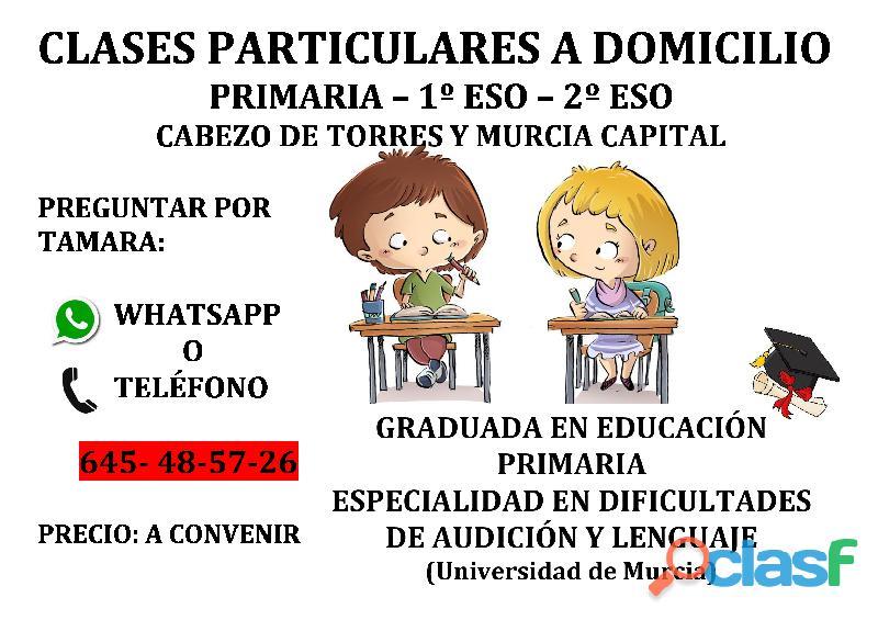 Clases particulares/refuerzo