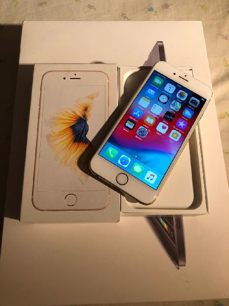 Iphone 6s 64gb libre oro impecable