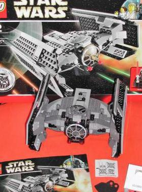 Lego star wars ref. 8017 tie fighter