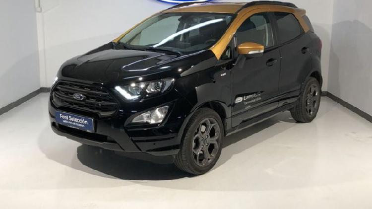 Ford ecosport nuevo st-line black edition 1.0 ecoboost 92kw