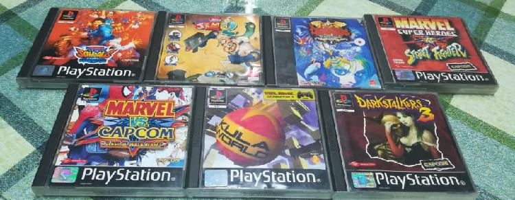 Lote pack ps1 kula world marvel earthworm jim 2