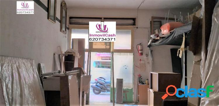Inmovilcash vende local comercial zona florida portazgo por tan sólo 43.000€
